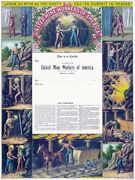 6704.united Mine Workers Of America.labor As Wide As Earth.poster.art Wall Decor