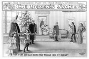 6863.for Her Childrenand039s Sake.the Companion Play.man Waving.poster.art Wall Decor