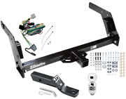 Trailer Tow Hitch For 89-95 Toyota Pickup Complete Package W/ Wiring And 2 Ball