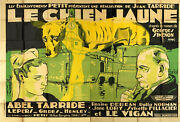 Yellow Dog 1932 Georges Simenon Maigret French 94x63 Poster