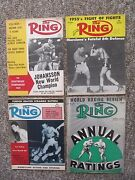 Sixty Three The Ring Magazine, 1950's And 1960's. Clay, Liston, Patterson, Etc.