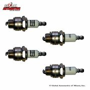 4 Pack New Champion Ez Start Spark Plug 5861 For Home Garden Lawn Small Engine