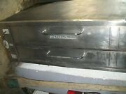 Pizza Oven Bakers Pride Stones Oven Gas1 Deck Legs 900 Items On E Bay