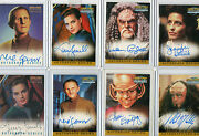 Star Trek Ds9 Deep Space Nine Autograph And Costume Card Selection Nm