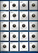 1980 -1999 S Proof Dime Set Of 20- 1980 Through 1999