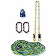 Tree Climbers Spur Climbing Upgrade Kit,150' Rope, Split Tail, Pulley, And More
