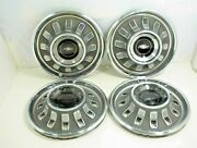 1967 Chevrolet Impala Hubcaps Wheel Covers 14 Belair Biscayne Wagon
