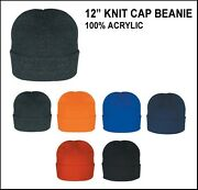 Wholesale Lot 144 New Beanies Knit 12 Ski Skull Caps Hat U Pick Colors Tuque