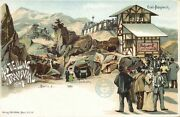South Africa, Transvaal Ausstellung, Gold Mining, Cable Car 1897 Expo