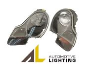 For Porsche Boxster Headlight Assy W/clear Turn Signal Lens Halogen Left And Right