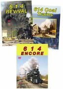 614 Cando 3 Dvd Collection Encore Coal Trains And Revival Chesapeake And Ohio Gsvp