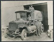 1921 Powdered Coal Rare Delivery Truck Vintage Photo
