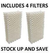Humidifier Filter Wick For Essick Emerson Moistair Hdc-411 1211 2412 - 4 Pack