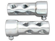 1 3/4 7/8 2 Shorty Steel Baffles 4 Long Baffle Set For Exhaust Pipes Harley
