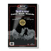 Case Of 1000 Bcw Silver Age Comic Book Backing Boards - Acid Free White Backers