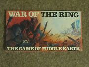1976 War Of The Ring Fgu Board Game. Lotr Complete. Unpunched. Very Rare