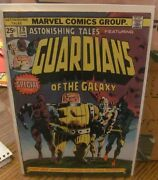 Astonishing Tales 29 Reprints 1st Appearance Guardians Of The Galaxy Vg