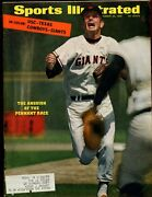 Sept 26 1959 Sports Illustrated Magazine With Gaylord Perry Cover Ex+