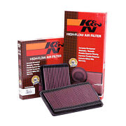 Kandn Air Panel Filter For Megane Mk2 Rs F1 225 / 230 R26 Inc Cup Trophy R26.r