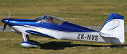 Rv-7 Zk-nvs Private Rv7 Homebuilt Aircraft Wood Model Free Shipping