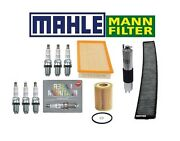 For Bmw E46 3-series Complete Oem Tune Up Oil Air Gas Charcoal Cabin Filter Ngk