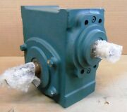 Dodge Tigear 2 Right Angle Worm Gear Speed Reducer 26s20l 201 1673 Lbs-in