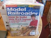 Model Railroader Magaines Lot Of 6 2006