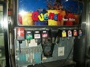 Soda And Ice Disp.mach. Servend Md200 8 Heads Complete Nice 900 Items On