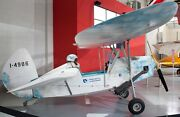 Mignet Hm-290 Flying Flea Private Aircraft Wood Model Free Shipping New