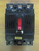 General Electric 40 Amp 3 Pole Circuit Breaker Thef136040 ..... Wb-166