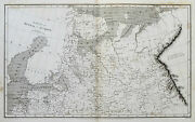 1809 Russia In Europe North Part Genuine Arrowsmith Antique Map