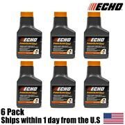 6 Pack Echo Oil 2.6 Oz Bottles 2 Cycle Mix For 1 Gallon – Power Blend 6450001g