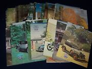 1970s-1980s Generator And Distributor Car Magazine Lot Of 38 Issues - M 966