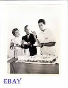 Vince Edwards Bing Crosby Vintage Photo Ben Casey And The Bing Crosby Show