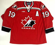 Steve Yzerman 1998 Nagano Olympics Team Canada Bauer Jersey Size L New With Tags