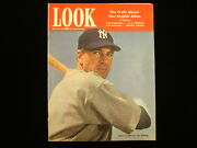 July 28, 1942 Look Magazine – Gary Cooper As Lou Gehrig Ny Yankees Cover