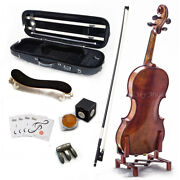 Sky 4/4 Size Vn522 Violin Euro Performer Series For Professional Antique Style
