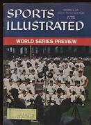 September 28th 1959 Sports Illustrated World Series Preview Issue Ex