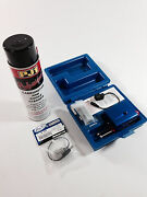 Motion Pro Fuel Injector Cleaner Kit Both Hyb Nd Plugs 08-0596 08-0593 Pj1 Carb
