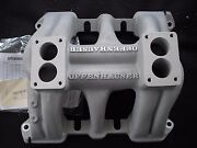 Offy 1080 2x2 Dual And03949-and03963 All V-8and039s Cadilac Intake Rat Hot Rod Tri Power
