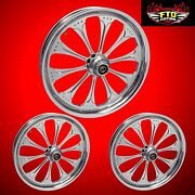 Harley Davidson Trike Custom Wizard Chrome Wheels Flhxxx From Ftd Customs