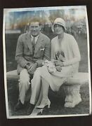 Original March 9 1930 Gene Tunney And Wife Boxing Wire Photo