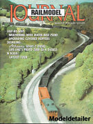 Railmodel Journal Mar.94 Athearn Sd40t-2 Diesel N Scale Layout Covered Hoppers
