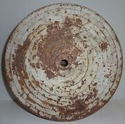 Early 1900and039s Antique Cast Iron Shooting Gallery Duck Target Hm Quackenbush