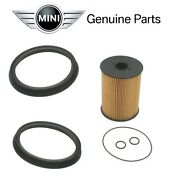 For Mini Cooper R50 R52 R53 Fuel Filter Kit W/ O-rings New 16 14 6 757 196