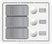 New Water Resistant Dc Circuit Breaker Panels Blue Sea Systems 8274 3 Vertical 4
