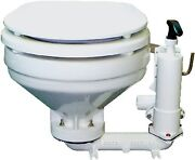 New Hfb Compact Manual Toilet Groco Hfb 12.44 H X 17.29 Overall Width