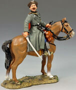 King And Country Ww2 German Army Ws143 Mounted Cossack Officer With Sword