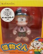New Medicom Toy Vinyl Collectible Dolls Vcd Kaibutsu-kun Old Comic Pre-painted
