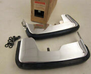 1973 Monte Carlo Pair Front Bumper Guards New Gm Nos 994372
